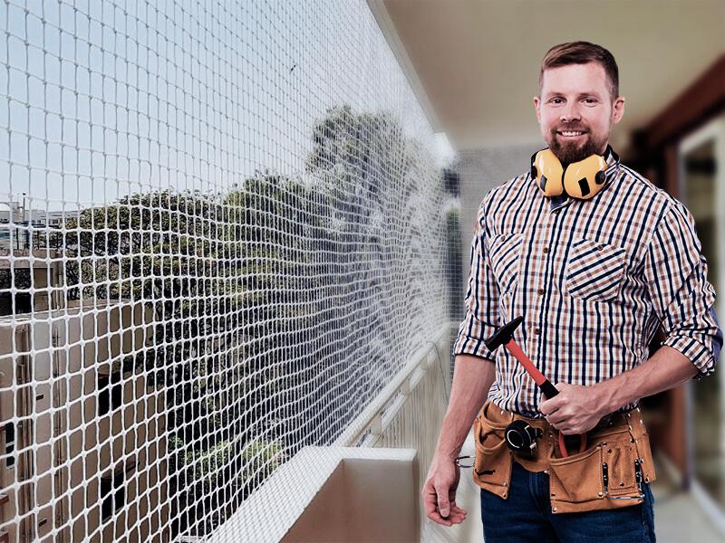 Por que contratar um técnico em instalação de redes de proteção?