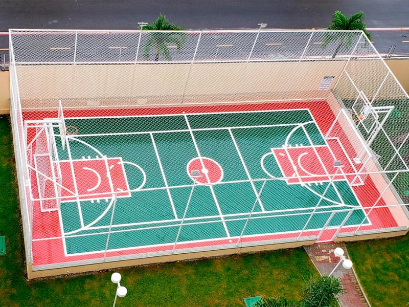 Redes de proteção para quadras poliesportivas: para que usamos?